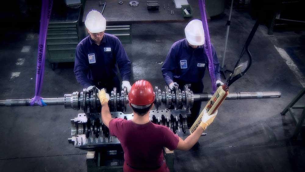 GE Oil & Gas Filmato Industriale