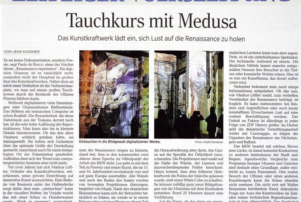 Sull'evento Multimediale a Lipsia
