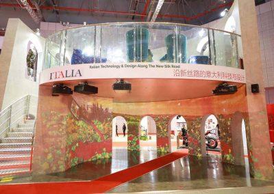 Padiglione ITALIA alla Fiera C.I.I.E. di Shanghai