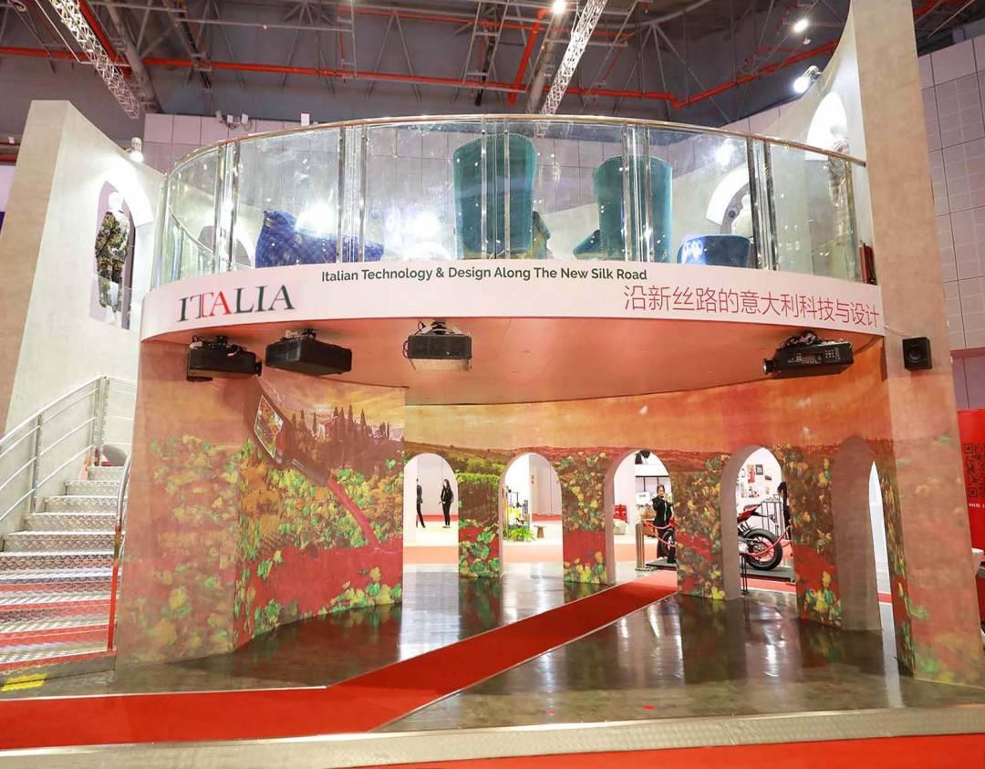 Fiera di SHANGHAI padiglione Italia